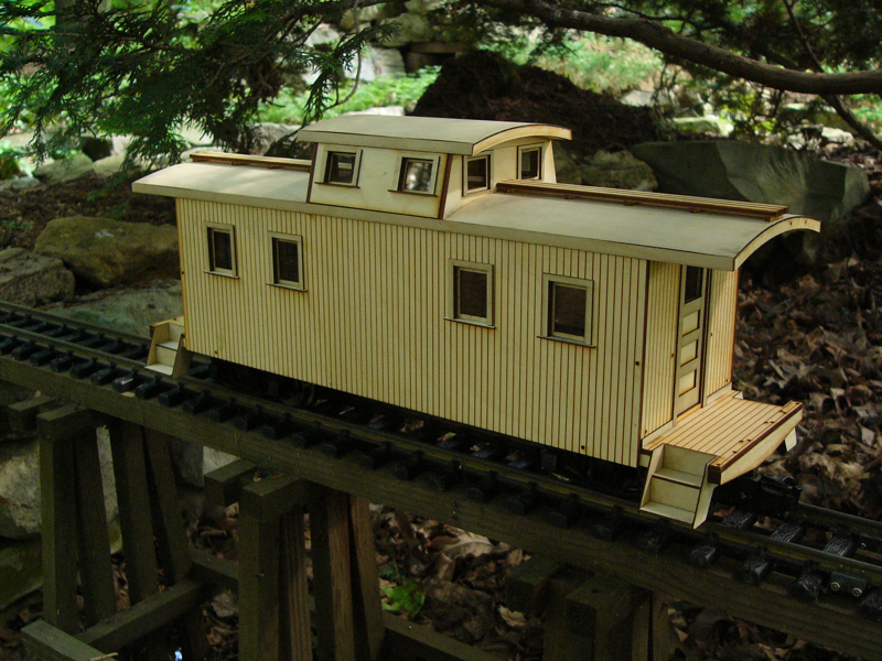 Iron Horse Engraving Model Train Kits